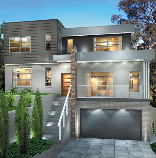 Split Level Home Design North Sydney