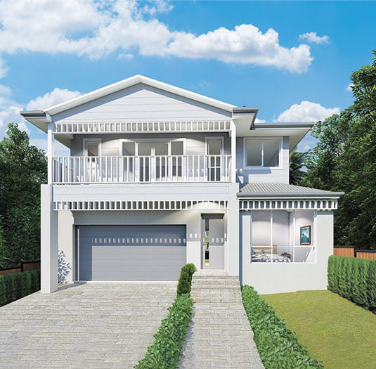 Custom Designed Two Storey Homes